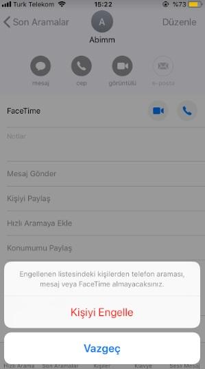 iphone numara engelleme olmuyor, iphone numara engelleme, iphone kişi engelleme, iphone arayanı engelleme, numara engellenmiyor, iphone rahatsız edeni engelleme