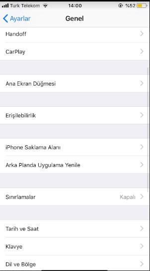 iphone sınırlamaları açıp kapatamıyorum, iphone sınırlama etkinleştiremiyorum, iphone sınırlama koyamıyorum, iphone sınırlama açma, iphone sınırlama kapatma, iphone sınırlama kapanmıyor