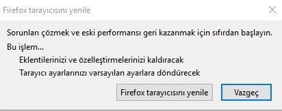 Firefox geçmişi temizleme sıfırlama 2018, firefox sıfırlanmıyor, mozilla sıfırlama nerede, firefox temizleme nerede, firefox sıfırlama, mozilla sıfırlama