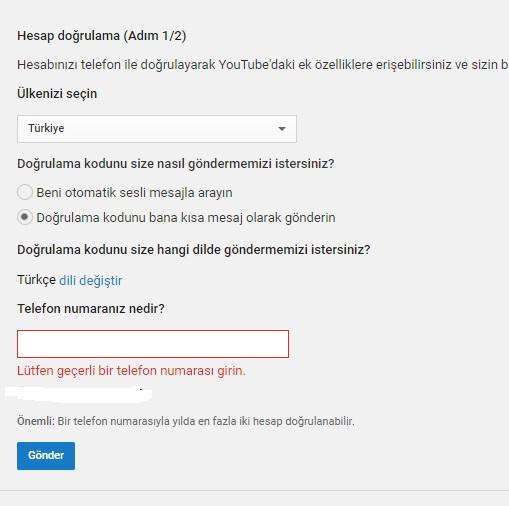 Youtube 15 dakika sınırı kalkmıyor, youtube uzun video eklenmiyor, youtube uzun video sorunu, youtube 15 dakika sınırı, youtube kanala uzun video ekleyemiyorum, youtube videom uzun eklenmiyor