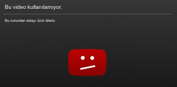 Youtube video şuanda kullanılamıyor, youtube video izlenmiyor, youtube video izleyemiyorum, youtube video kullanılamıyor, bu video kullanılamıyor, youtube bu video kullanılamıyor