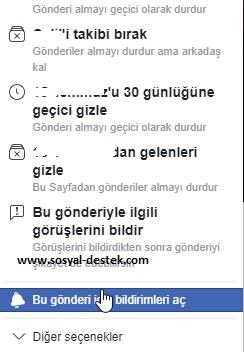 Facebook gönderi bildirimlerini açamıyorum, facebook gönderi bildirimlerini açma, facebook gönderi bildirimleri gelmiyor, facebook paylaşım bildirimleri alma, facebook paylaşım bildirimi gelmiyor, facebook gönderi ayarları