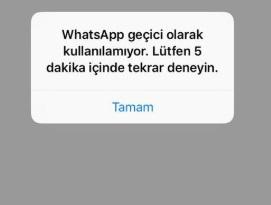 Whatsapp geçici olarak kullanılamıyor diyor, geçici olarak kullanılamıyor, whatsapp kullanılamıyor, whatsapp kullanılmıyor, whatsapp çalışmıyor, whatsapp girilmiyor, wp geçici olarak kullanılamıyor