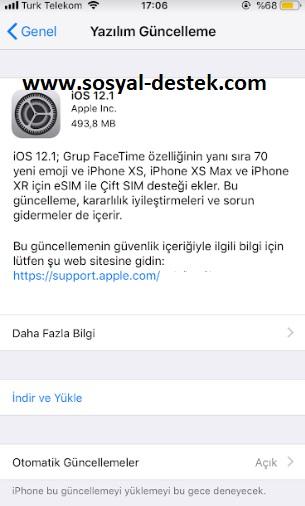 iOS 12.1 ile gelen yenilikler nelerdir, ios 12.1 yenilikler, ios 12.1 yeni emojiler, ios 12.1 sim kart desteği, ios 12.1 çift kart desteği, iphone çift sim kart