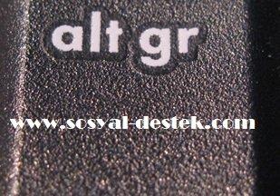 Klavyede alt gr tuşu ne işe yarıyor, alt gr nedir, alt gr ne işe yarar, alt gr görevi, klavyede alt gr görevi, alt gr