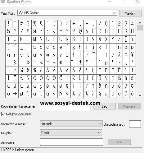 Klavyemde ünlem işaretini göremiyorum, bilgisayarda ünlem nerede, klavyede ünlem çıkmıyor, klavyede ünlem nerede, klavyede ünlemi bulamıyorum, pc de ünlem nasıl yapılır