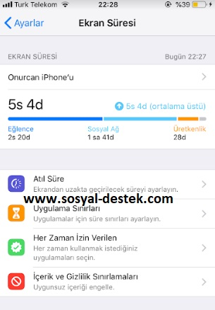 iphone ekran süresini kapatamıyorum, iphone ekran süresi nasıl kapatılır, iphone ekran süresi kapanmıyor, iphone ekran süresi iptal etme, iphone ekran süresi gelmesin, iphone ekran süresi çıkmasın