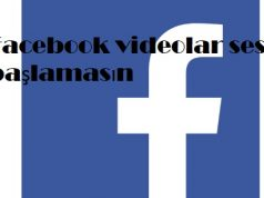 Facebook videolar sesli başlamasın