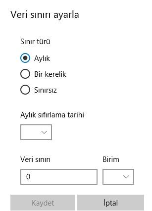 Windows 10 kota koyamıyorum olmuyor, windows 10 kota koyma, windows 10 veri kullanımı, windows 10 kota koyulmuyor, windows 10 internete sınır koyma, windows 10 kota sınırı belirleme