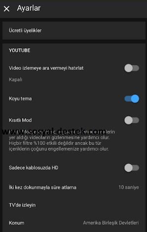 Youtube siyah ekran gözükmesin çıkmasın, youtube ekran karanlık olmasın, youtube ekran siyah olmasın, youtube ekran siyan görünmesin, youtube koyu temayı kapatma, youtube koyu temadan çıkma