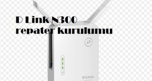 D Link N300 repater kurulumu