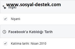 Facebook katıldığım tarih gözükmesin, facebook katıldığım tarih çıkmasın, facebook katıldığım tarihi gizleme, facebook katıldığım tarih görünmesin, facebook katıldığım yıl çıkmasın, facebook katıldığım tarih gizlenmiyor