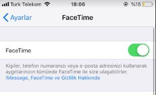iphone facetime açma etkinleştiremiyorum, iphone facetime aktif etme, iphone facetime açılmıyor, ipad facetime açma, facetime etkinleştirme, facetime etkinleşmiyor