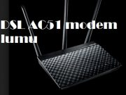 Asus DSL AC51 modem kurulumu