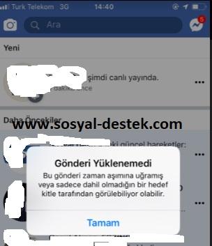 Facebook gönderi yüklenemedi açılmıyor, facebook gönderi yüklenmiyor, facebook gönderi açılmıyor, facebook gönderi çalışmıyor, facebook gönderi yüklenemedi nedir, facebook neden gönderi yüklenemedi diyor