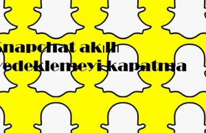 Snapchat akıllı yedeklemeyi kapatma