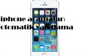 iphone aramaları otomatik yanıtlama