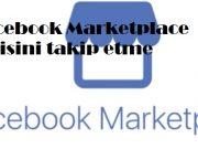 Facebook Marketplace birisini takip etme