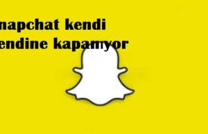 Snapchat kendi kendine kapanıyor