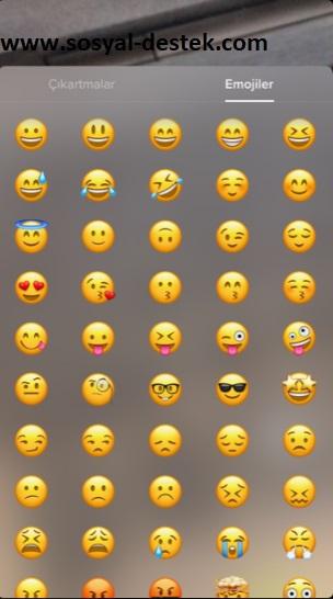 Tik tok videoya emoji koyma ekleme, tik tok videoma emoji koyma, tik tok videoya emoji eklenmiyor, tik tok emoji nerede, tik tok emoji yok, tik tok videoya emoji eklenmiyor