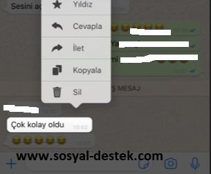 Whatsapp gelen mesajı başkasına gönderme, whatsapp konuşmayı başkasına yollama, whatsapp konuşmayı başkasına iletme, whatsapp yazışması başkasına gönderme, whatsapp yazıyı başkasına iletme, whatsapp mesajı iletme