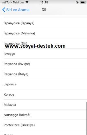 iPhone siri dilini değiştirme nerede, siri dil değiştirme, siri dil nasıl değiştirilir, siriyi türkçe yapma, siri türkçe değil, iphone siri dil ayarı