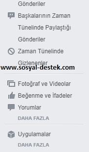 Facebook yaptığım beğenileri bulma, facebook eski beğenilerim, facebook geçmişteki beğenilerim, facebook tüm beğenilerim, facebook beğenilerim nerede, facebook beğenilerimi bulamıyorum