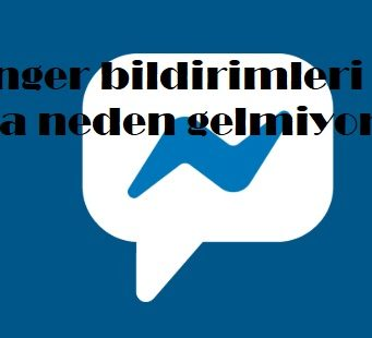 Messenger bildirimleri ekrana neden gelmiyor