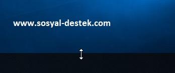 Windows 10 pro görev çubuğunu genişletme, görev çubuğunu genişletme, görev çubuğu genişlemiyor, windows 10 pro görev çubuğu, windows 10 pro görev çubuğu nasıl genişler, windows 10 pro görev çubuğu genişletme nerede
