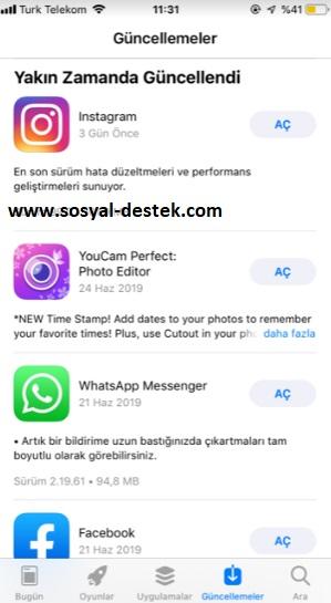 Apple store güncellemeleri kontrol etme, apple store son güncelleştirmeler, apple store güncellenen uygulamalar, apple store güncellemeler, apple store güncellemeler nerede, apple store güncellemeleri bulamıyorum