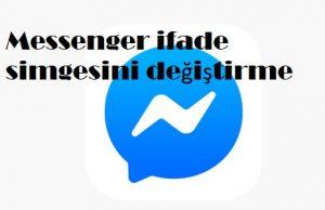 Messenger ifade simgesini değiştirme