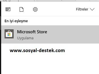 Windows 10 microsoft store gözükmüyor, windows 10 mağaza çıkmıyor, windows 10 mağaza nerede, windows 10 mağaza bende yok, windows 10 microsoft store gelmiyor, microsoft store görev çubuğunda yok