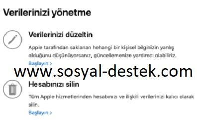 Apple kimliğini silme kapatamıyorum, apple kimliğini silme, apple kimliğini kapatma, apple kimliği nasıl silinir, apple kimliği nasıl kapatılır, apple hesabını silme