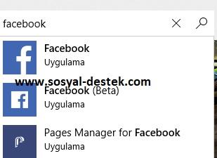 Bilgisayarıma facebook yükleme indirme, pc ye facebook yükleme, bilgisayara facebook kurma, bilgisayarıma facebook kurulmuyor, windows 10 facebook yükleme, windows 10 facebook indirme