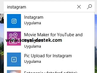Windows 10 bilgisayarıma instagram indirme, bilgisayara instagram kurma, pc ye instagram yükleme, bilgisayara instagram yükleme, windows 10 instagram kurma, windows 10 instagram indirme