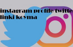 instagram profile twitter linki koyma