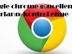 Google chrome güncelleme ayarlarını kontrol etme