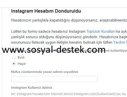instagram hiçbir neden yokken kapatıldı, instagram durduk yere kapatıldı, instagram neden kapatıldı, instagram kapatılan hesabı açma, instagram kapatılan hesaba itiraz etme