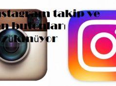 instagram takip ve sen butonları gözükmüyor
