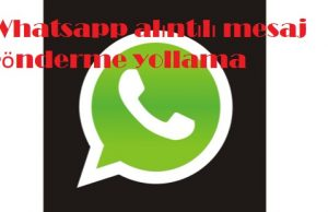Whatsapp alıntılı mesaj gönderme yollama