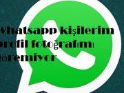 Whatsapp kişilerim profil fotoğrafımı göremiyor