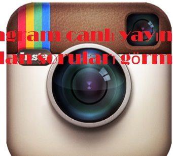 instagram canlı yayında sorulan soruları görme
