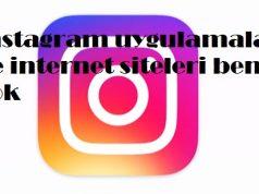 instagram uygulamalar ve internet siteleri bende yok