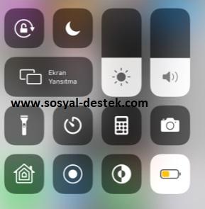 iphone düşük güç modunu denetime taşıma, iphone düşük güç modu ayarları, iphone yüzde kaç şarj kaldı, iphone şarj yüzdesini açma, iphone şarj yüzdesini görme, iphone kalan şarj yüzdesi
