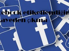 Facebook etiketlendiğim hikayeden çıkma