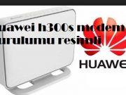 Huawei h300s modem kurulumu resimli