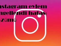 Instagram eylem engellendi hatası çözümü