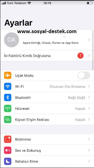iPhone servis yok nedir nasıl giderebilirim