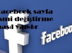Facebook sayfa ismi değiştirme nasıl yapılır