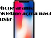 iPhone arama bekletme açma nasıl yapılır